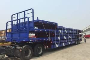 梁山盛源 16米 轻量化 低平板式运输半挂车 {提供手续}自重仅6.8吨
