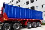 四川中专 8.5米 轻量化 自卸式半挂车
