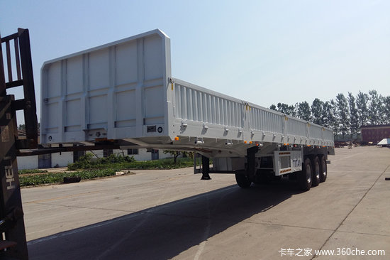 梁山长虹 13米  2.55米宽   轻量化 栏板式半挂车